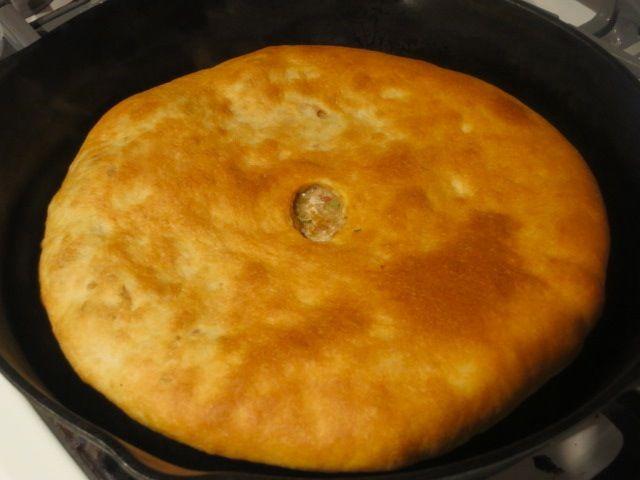 Невыразимая легкость кулинарного бытия...: Осетинские пироги с фасолью