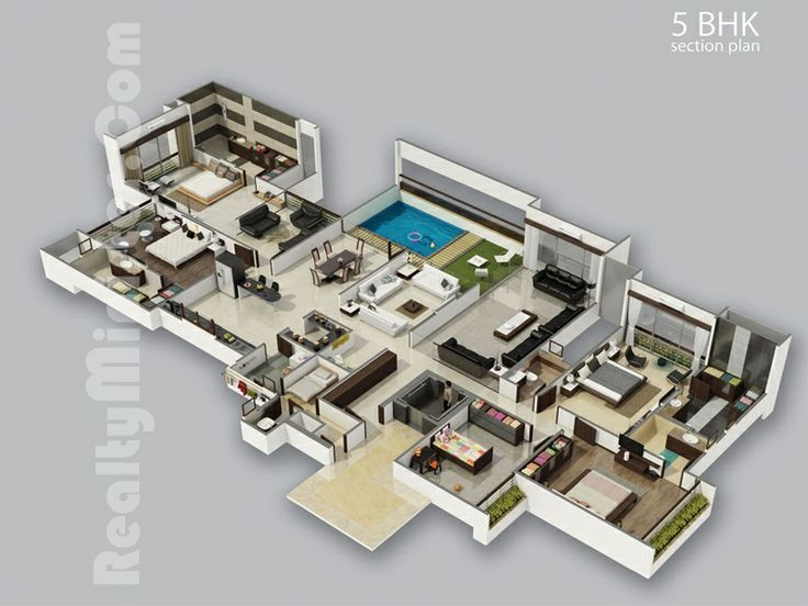 24 best images about 3d house plans on pinterest for 3d home design 64 bit