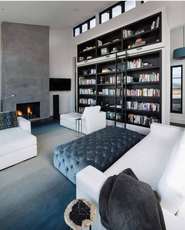 Modern Home Library Design Ideas: Best 25+ Small Home Libraries Ideas On Pinterest