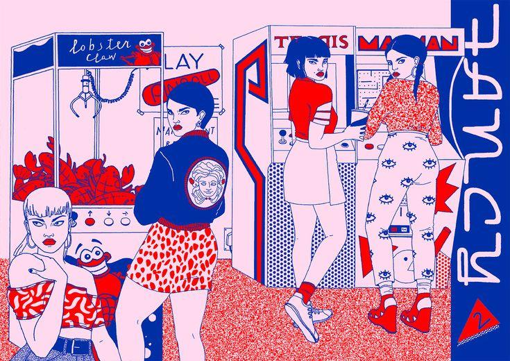Las ilustraciones de Laura Callaghan han llegado para hacer alarde de su auténtica forma de poner sobre la mesa o mejor dicho sobre el papel situaciones que derivan de una psicodelia total, con una...