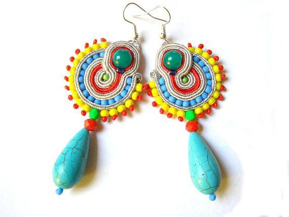 Soutache Earrings  Everly