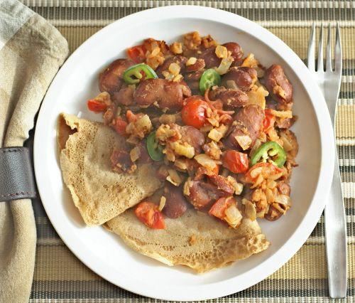 Egyptian Fava Bean Breakfast