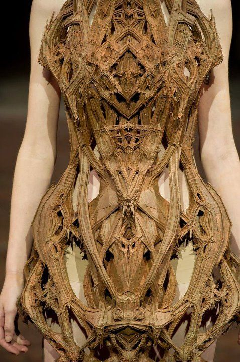 """sketchophrenic:    The """"Cathedral Dress"""" from Micro S/S 2012© Iris van Herpen"""