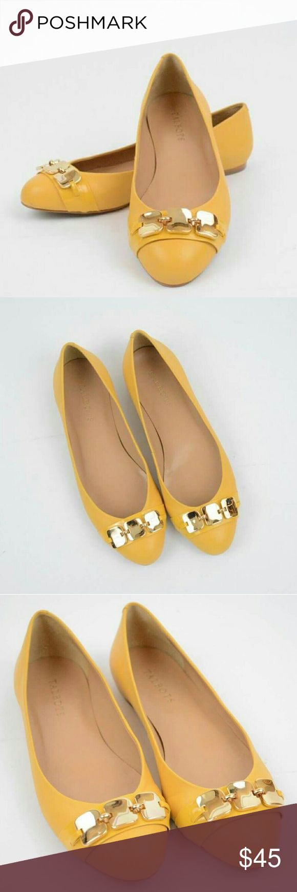 Talbots Flats - Yellow/Mustard Colored - S. 7 1/2 Talbots Yellow/Mustard Colored Flats. Size 7 1/2. These flats are absolutely beautiful and still are in great working condition! The insides of the shoes are clean and show little to no signs of use, however the bottom of these flats do show some signs of use. Theses flats are gorgeous and go well with so much! Please note, these are not stock photos, I take all my photos of the item I am selling. Please comment with any questions!! Thank you…