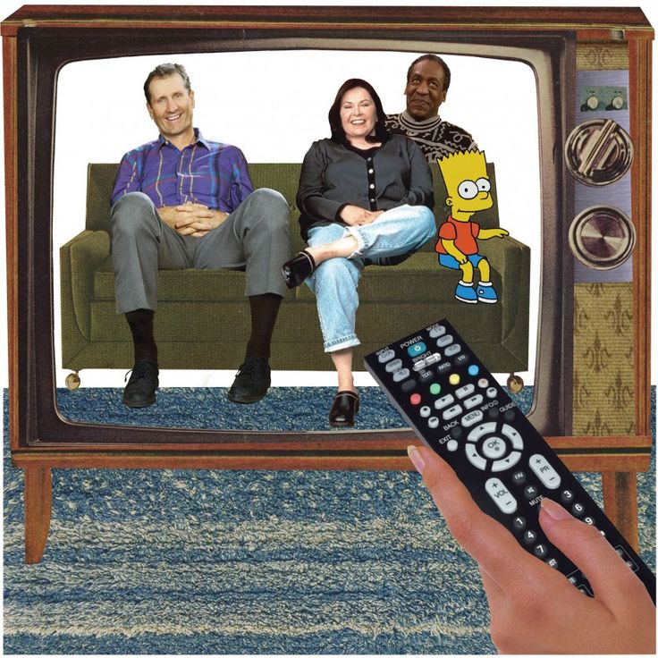 """When it comes to sitcoms, """"television's strange advantage in portraying domestic life was that it was itself an appurtenance of domestic life."""""""