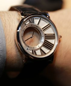Cartier Watch for men ! Really nice !!!! - get to the ceremony on time | Rotonde de Cartier Mystery Watch