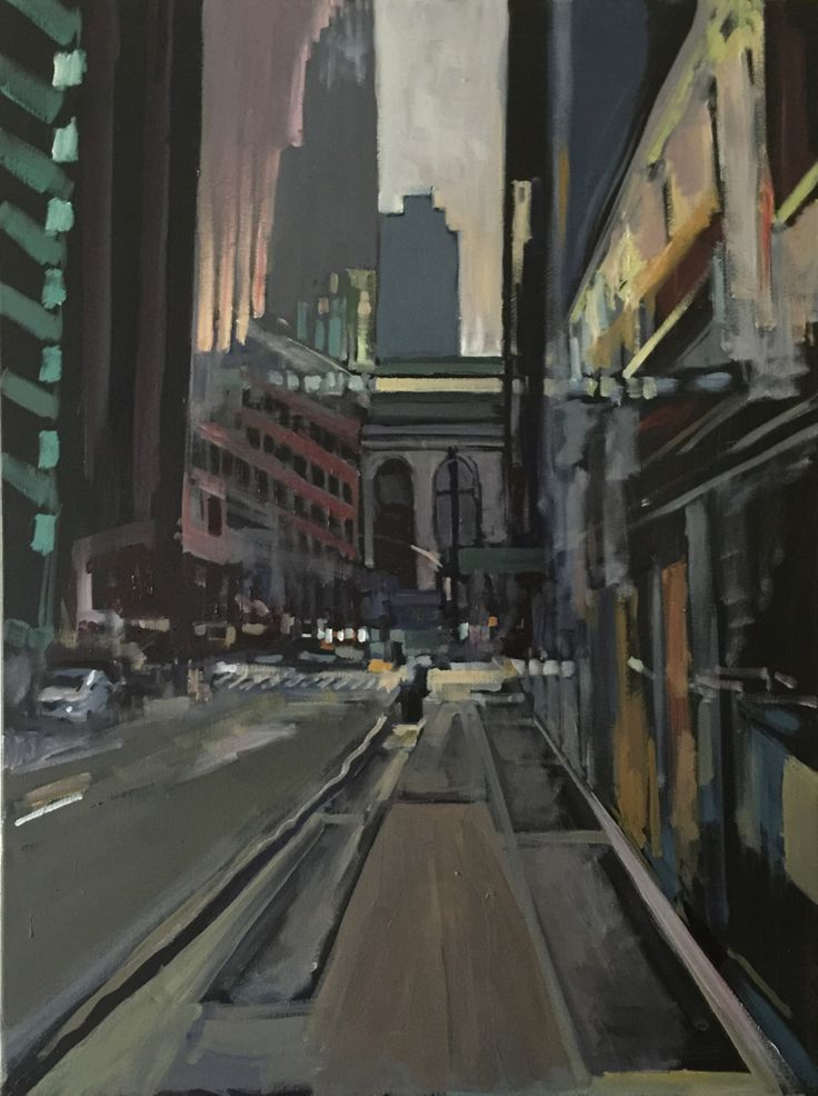 East 42nd Street towards Grand Central Station, NYC.  SOLD