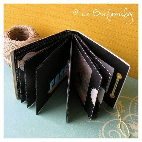 TUTO : Mini album à pochettes - La Bocfamily