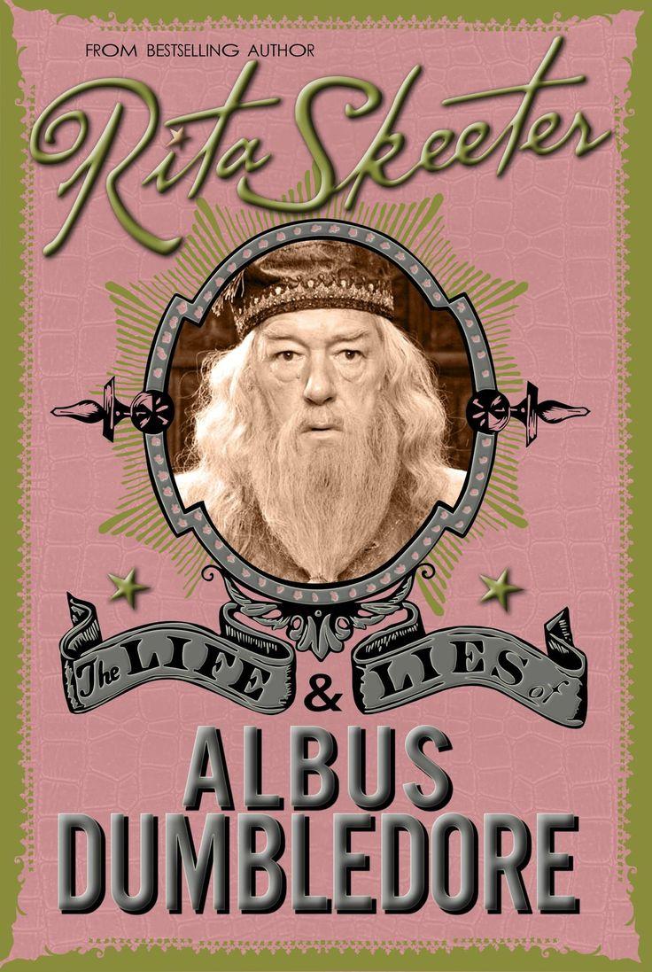 La terrible biographie de Dumbledore, écrite par Rita Skeeter.Publiée quelques semaines après la disparition...