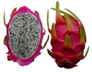 Pitaya fruta del dragón de fuego