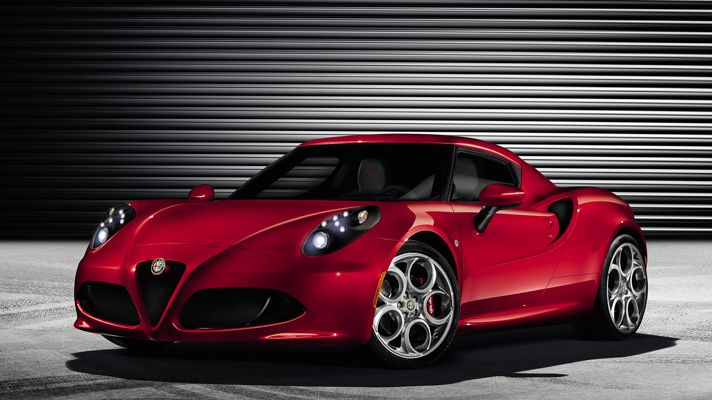 Alfa Romeo 4C Alfa showing the world what it can do when it focusses purely on performance. A feisty little piece of beauty