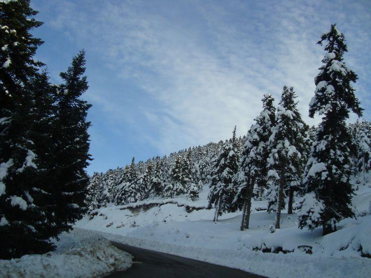 Kalavryta, Greece! http://goo.gl/yUeD7k #travel #greece #kalavryta #winter