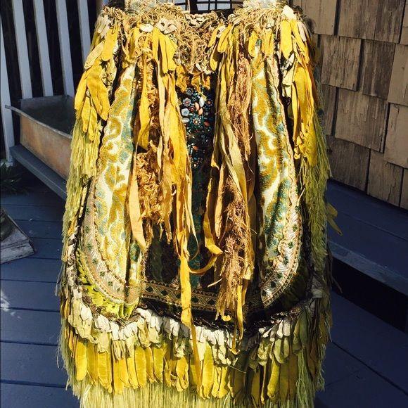 Vintage Magnolia Pearl Mermaid Bag~ Magnolia Pearl Mermaid Bag.....vintage French lace, ribbon, fabric and brooch....ONE OF A KIND........INSANE piece Magnolia Pearl Bags Shoulder Bags