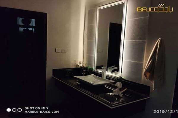 مغاسل ماركينا Bathroom Mirror Bathroom Lighting Mirror