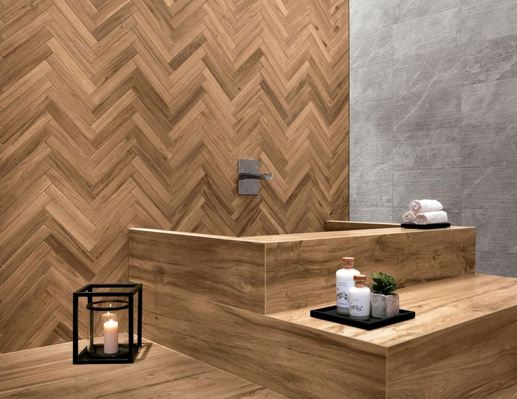 Porcelain Tiles with wood effect | Etic Pro by @atlasconcorde | The arrangement of these wood-look porcelain tile surfaces evoke a selection of prestigious and original wooden essences with a cutting, sharp, and modern character. | atlasconcorde.com | MADE IN ITLAY |