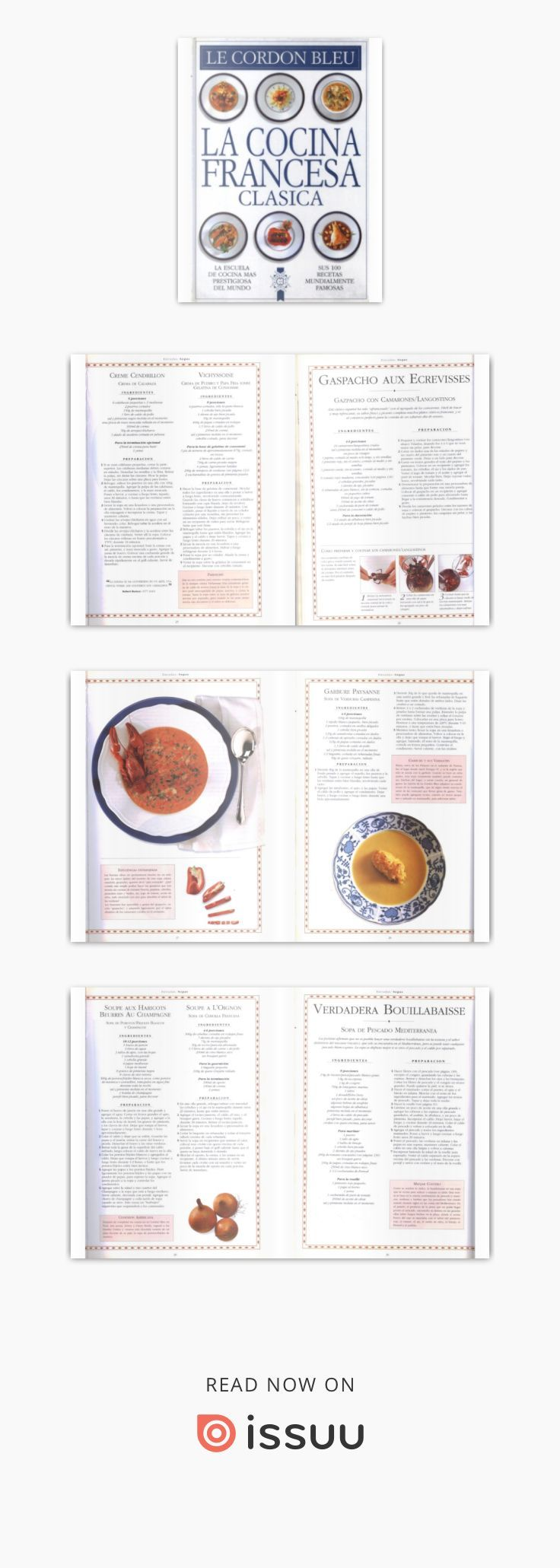 Issuu is a digital publishing platform that makes it simple to publish magazines, catalogs, newspapers, books, and more online. Easily share your publications and get them in front of Issuu's millions of monthly readers. Title: Le Cordon bleu cocina francesa clasica, Author: Jana Coelho, Name: Le Cordon bleu cocina francesa clasica, Length: 169 pages, Page: 1, Published: 2017-11-13