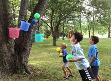 Fun Outdoor Games like Bucket Ball ... simple fun ... Summer Fun | Ziggity Zoom