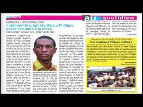LES RELIGIEUX DE COTE D'IVOIRE CHERCHENT A RENDRE VISITE AU PROPHETE KAC...