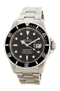 Rolex Men's/Unisex Submariner Stainless Steel Bracelet Watch