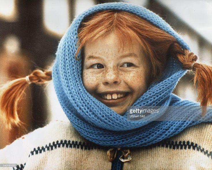 Nilsson, Inger *-Schauspielerin, S- als 'Pippi Langstrumpf' - undatiert
