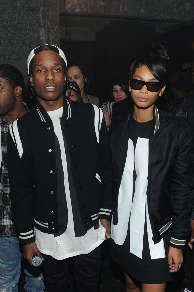 Chanel Iman & ASAP Rocky follow //UnitedNationz// for our latest Streetwear