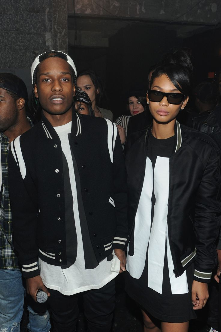Chanel Iman & ASAP Rocky follow //UnitedNationz// for our latest Streetwear