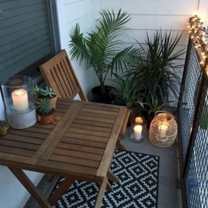 If You Live In A Ground Floor Apartment Chances Are Your Patio Could Use Some Decoration And Perhaps Apartment Patio Decor Balcony Decor Small Apartment Patio