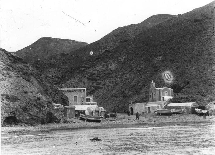 Anafi, harbour