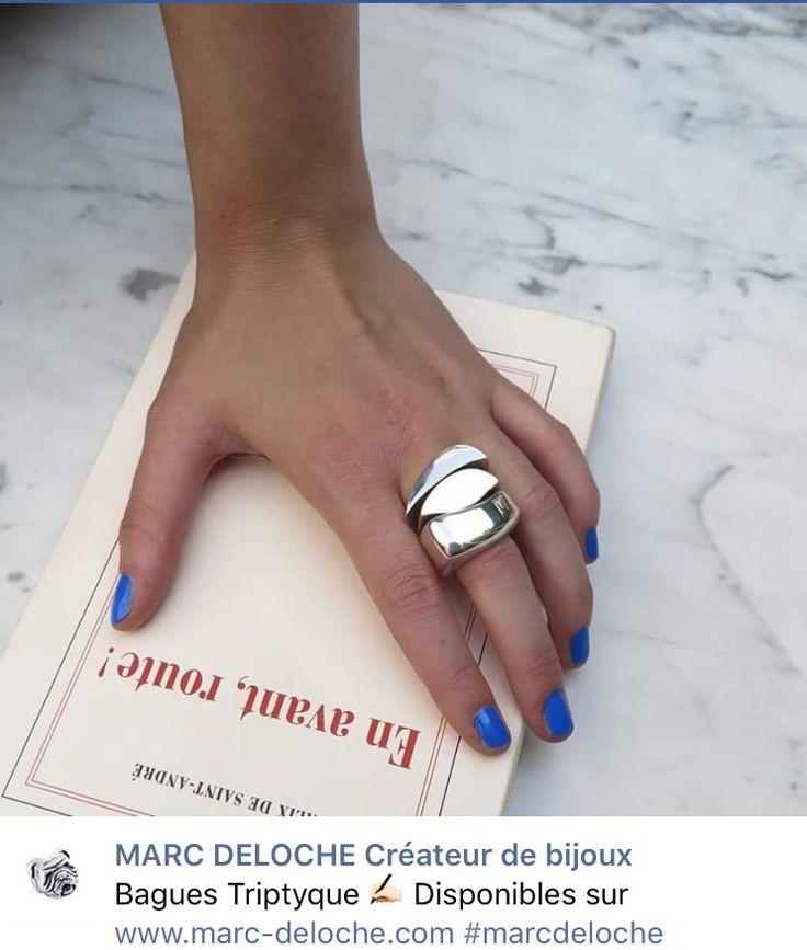 Marc Deloche Bague Triptyque