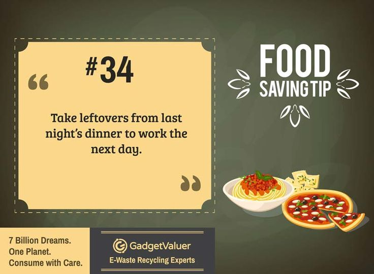 Food Saving Tip 34 | 150+ Sustainability Resources | #WED2015 #7BillionDreams #Sustainability