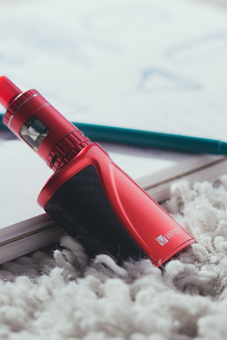 Vaptio P-I MINI red kit, so small and cute,it will definitely be one of your favorite vaping device during travel.