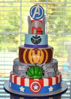 Disney's Ariel themed wedding cake -- could also be an adorable Birthday cake for an Ariel B-day party! Description from pinterest.com. I searched for this on bing.com/images