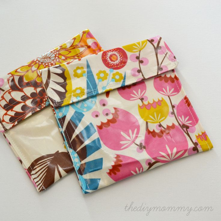 Sew an Easy Reusable Snack Bag in 15 Minutes! #backtoschool #DIY