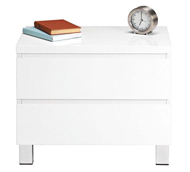 White bedside table  149 Fantastic Furniture High Gloss Vogue Bedside Table. 30 best Furniture images on Pinterest