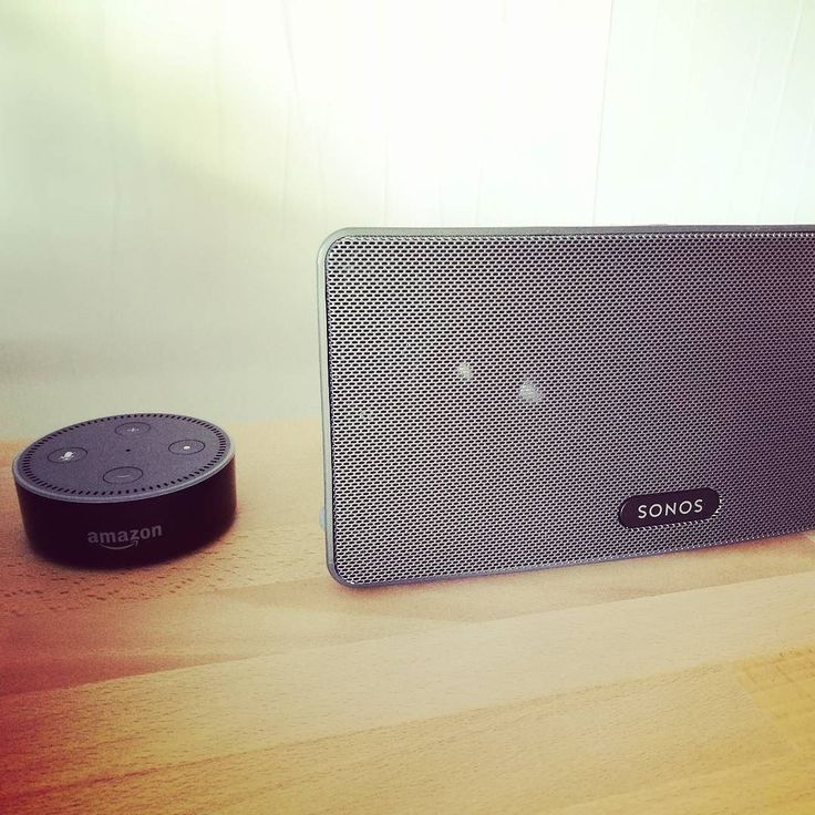 What a day: Amazon's Alexa Dot and my Sonos Play:3 are communicating and working together. What a surprise after month's of waiting ...   #amazon #echodot #amazonechodot #sonos #sonosplay3  #communication #sonosskill #skill #musicismyfirstlove #smartphonephotography #ilovemusic #speechless #surprised #surprise #beta #sonosbeta