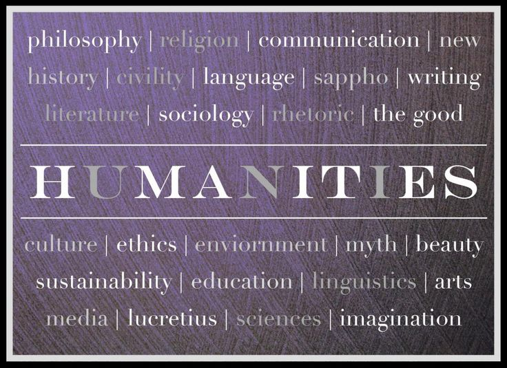 What is a humanities class?