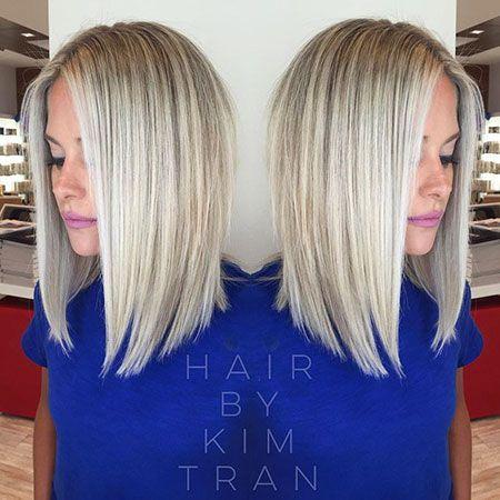 20 besten langen Frisuren von blonden Bob #besten…
