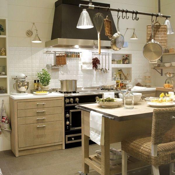 ms de fotos de cocinas rusticas decoradas con mucho encanto divididas en cocinas