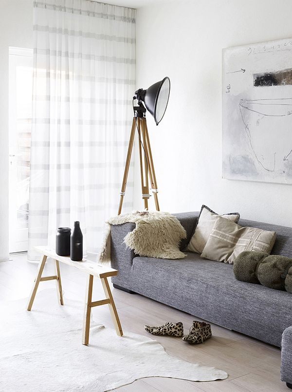 Scandinavian atmosphere with the Fiton fabric by #Vadain