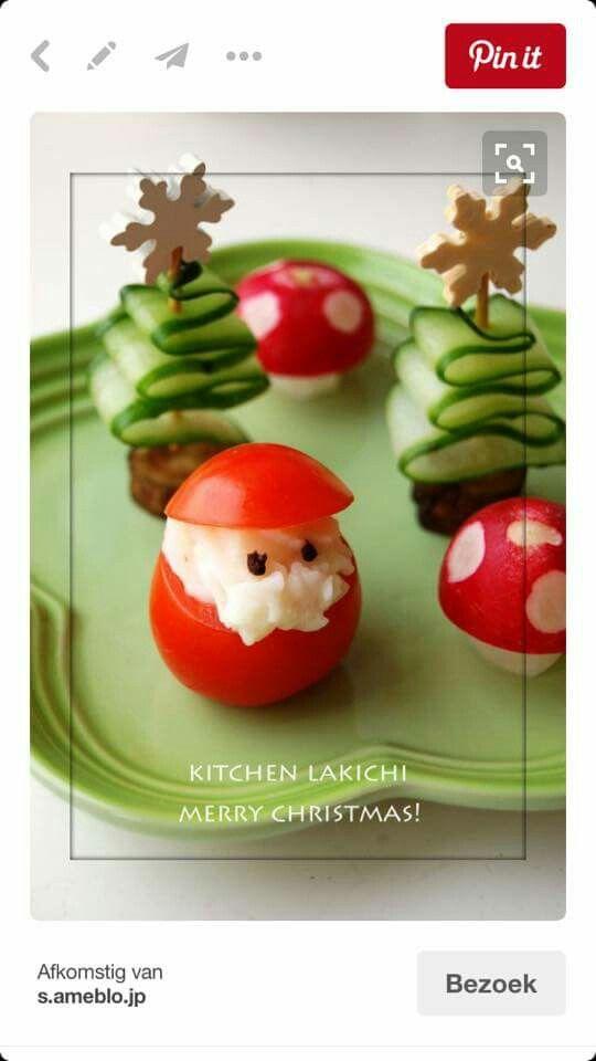 Weihnachtliches (Christmas Appetizers Creative)
