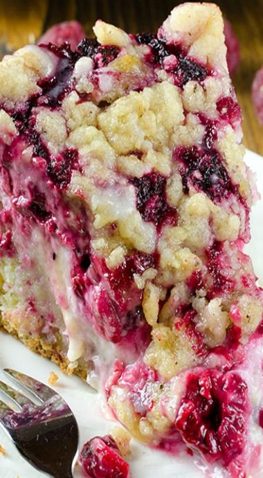 raspberry cream-cheese coffee cake
