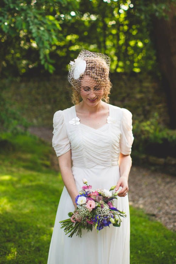 1940s wedding dress by S6 Photography 31