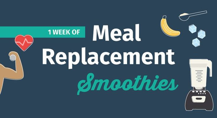 7 Meal Replacement Smoothies