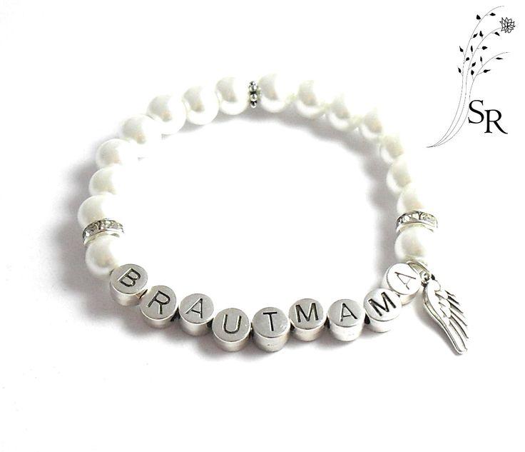 http://www.sweet-rosy.de/hochzeit/brautmama-armband/ das perfekte Geschenk für die Brautmütter :)