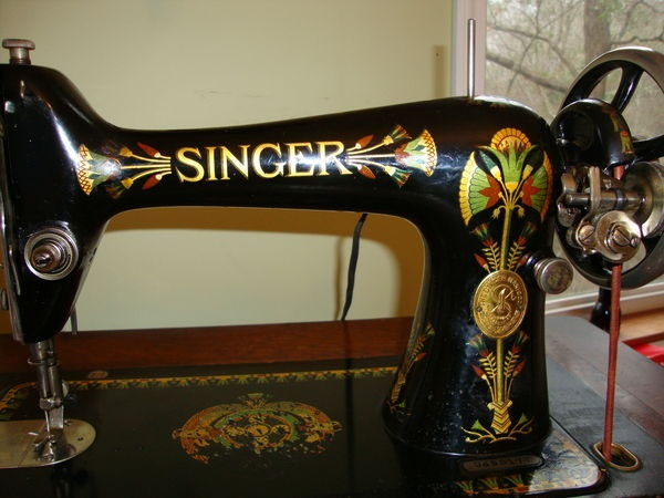 My Singer 4040 Beautiful Treadle Machine Made In 40908 Brown Lotus Amazing Replacement Sewing Machine Decals