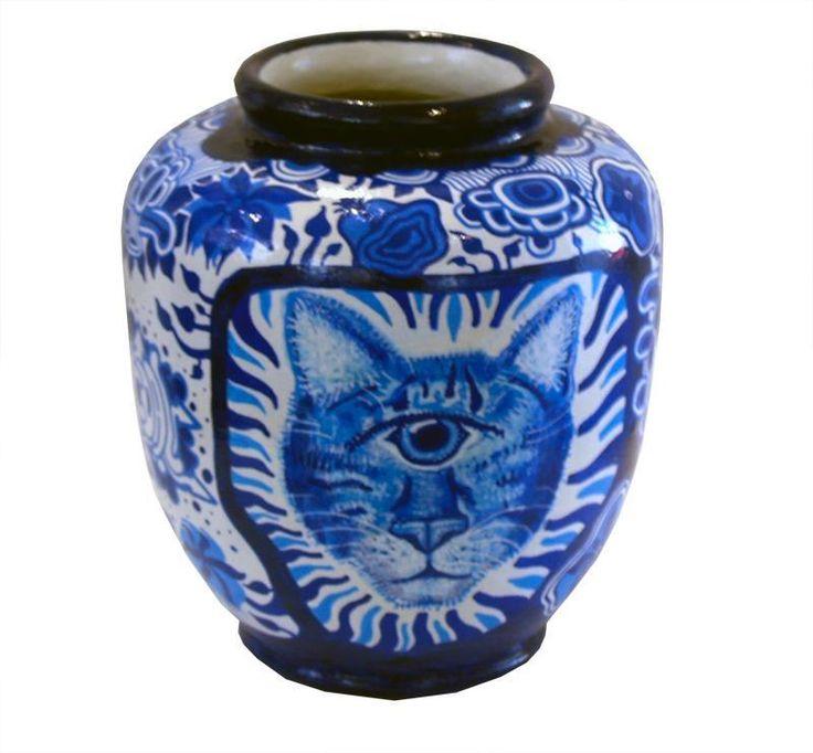 Kunst vaser af Pascoal Sissero