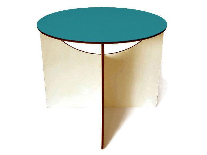 Tavolini - Tavolino rotondo moderno,arredi minimalisti - un prodotto unico di Lexio_shop su DaWanda