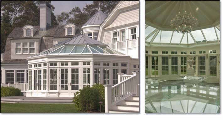 Luxury Indoor Pool Conservatory Southampton Long Island