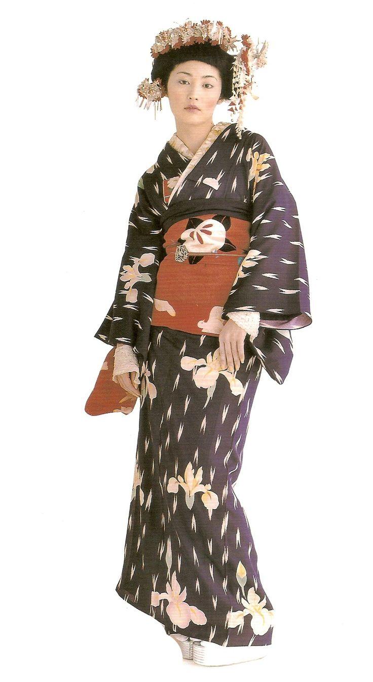 Kimono-hime issue 5. Fashion shoot page 3. Via Satomi Grim of Flickr