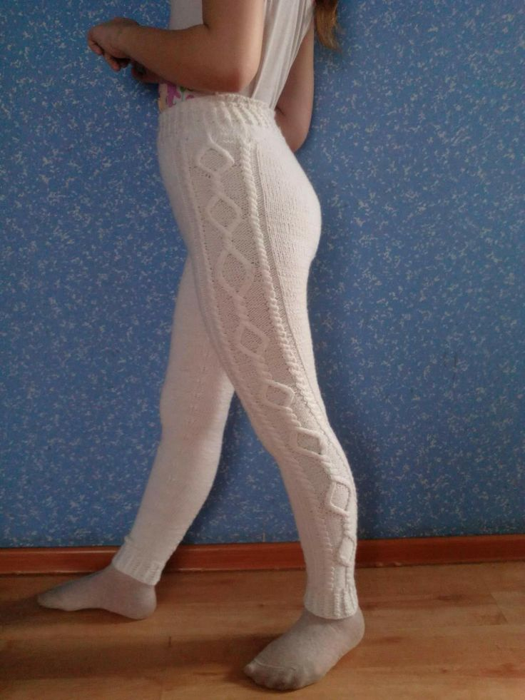 260 best Брюки, шорты images on Pinterest | Knit crochet, Knit pants ...